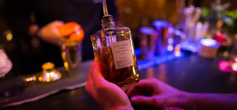 Nikka Whisky-from the barrel, bottle