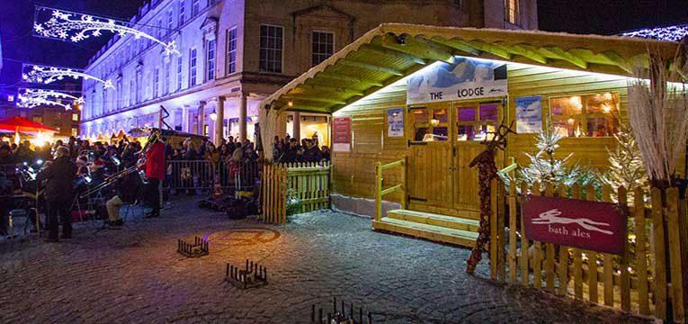 Bath Ales at Christmas Market
