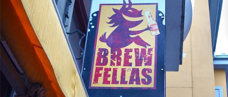 Brewfellas sign