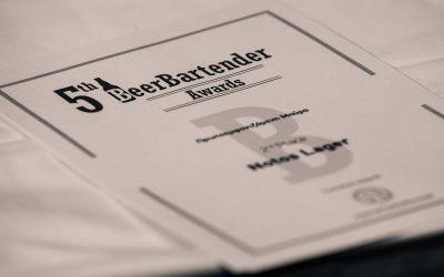 BeerBartender Awards certificate