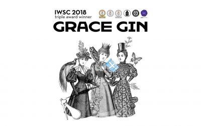 grace gin won iwsc18
