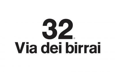 32 via dei birrai logo